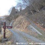 鷹ノ巣山(浅間尾根)の登山口 峰谷にバスでアクセスする方法