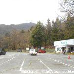尾白渓谷の駐車場