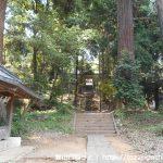 村檜神社の参道
