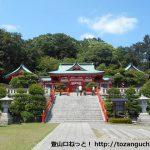 織姫神社(足利市)の本殿