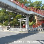 織姫神社の参道入口