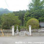 御嶽山神社の境内入口